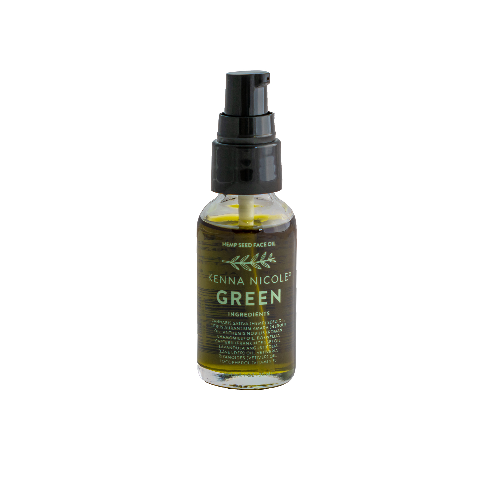 Kenna Nicole GREEN Hemp Face + Skin Oil